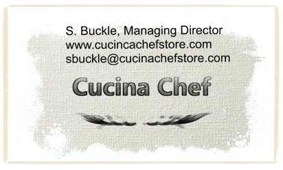 Sue Buckle Business Card